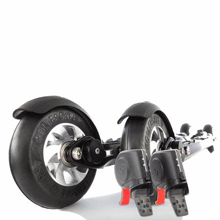 Roller Ski Skate XL With Brakes