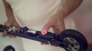 RollerSafe - Roller Skis with electronic brakes