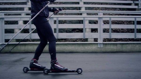 RollerSafe - braking at Holmenkollen