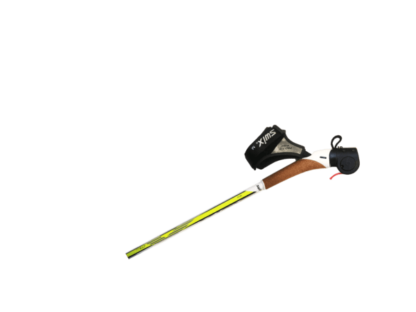 Wireless brake for ski poles